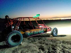 Mini Baja Chase After Dark