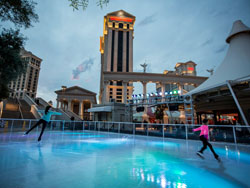Caesars Chalet Holiday Ice Rink