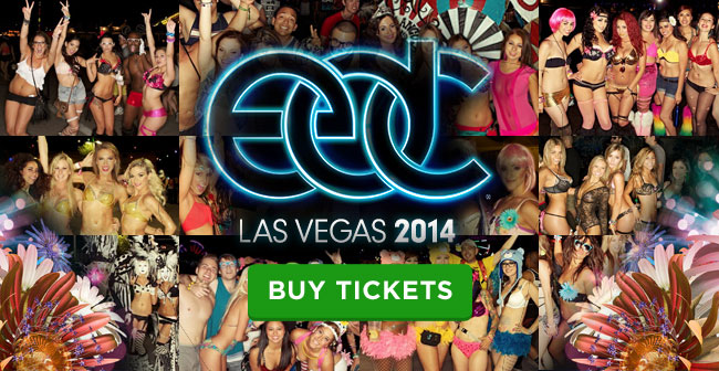 Get Your Tickets to EDC - Electric Daisy Carnival