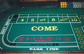 Craps play for free