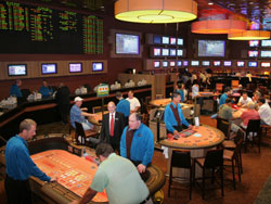 Harrahs Sports Book