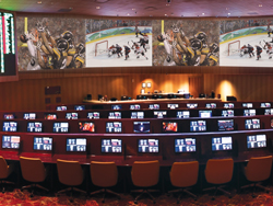 CG Technology Race & Sports Book at the Tropicana