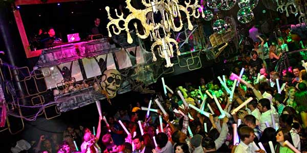 club one casino halloween party
