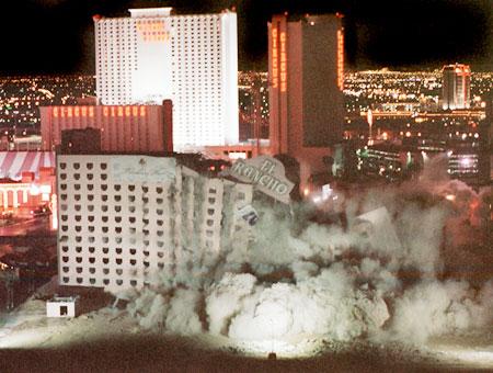 El Rancho Las Vegas implosion