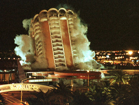 Vegas casino razed in 1996 gamble online