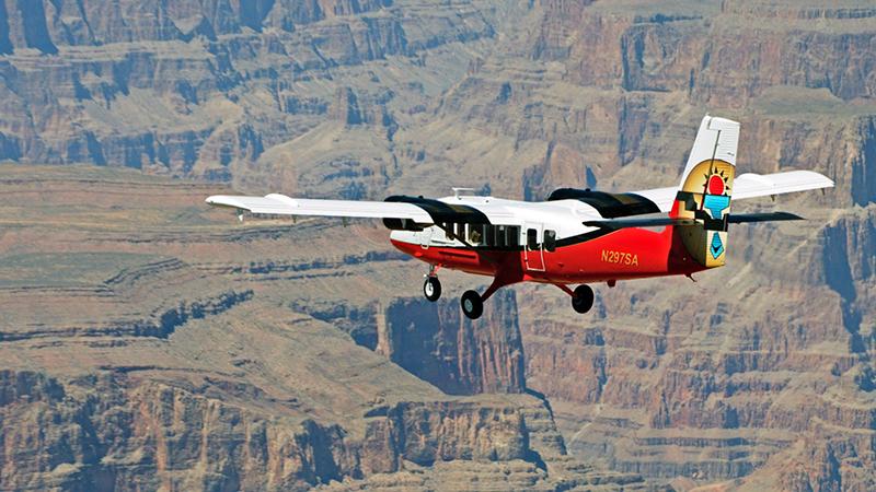 Grand Canyon Voyager - Grand Canyon Plane View