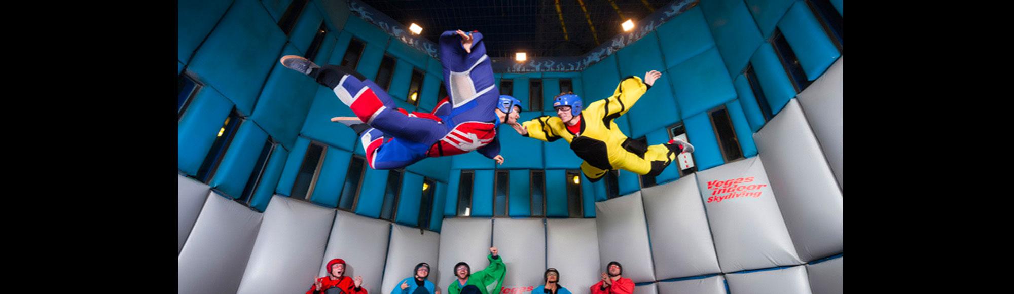 Vegas Indoor Skydiving attraction
