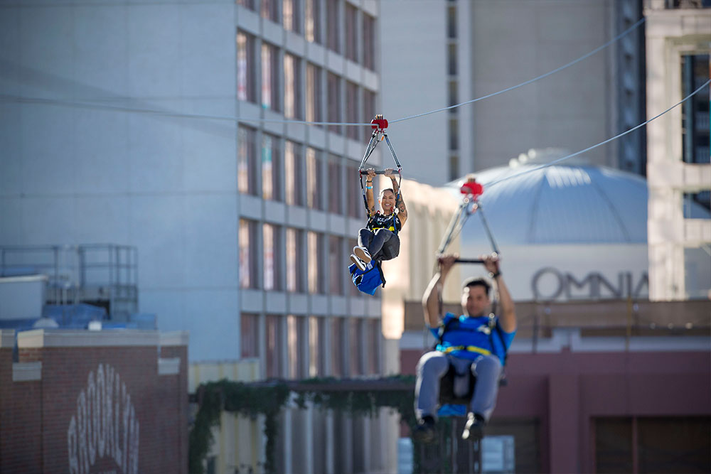 Fly LINQ - Fly LINQ Zipline
