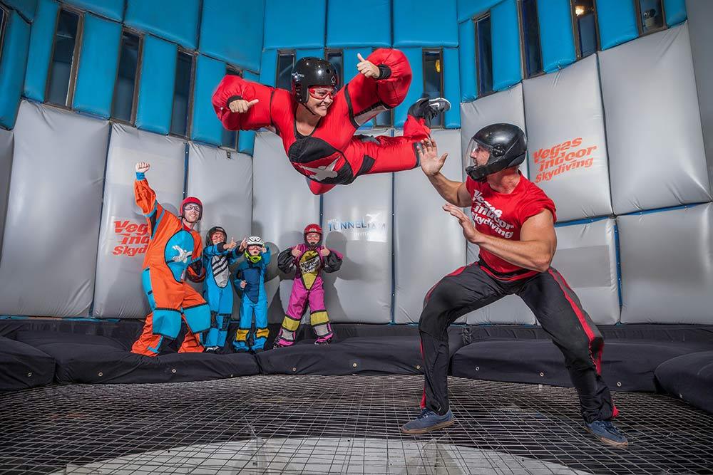 Vegas Indoor Skydiving -
