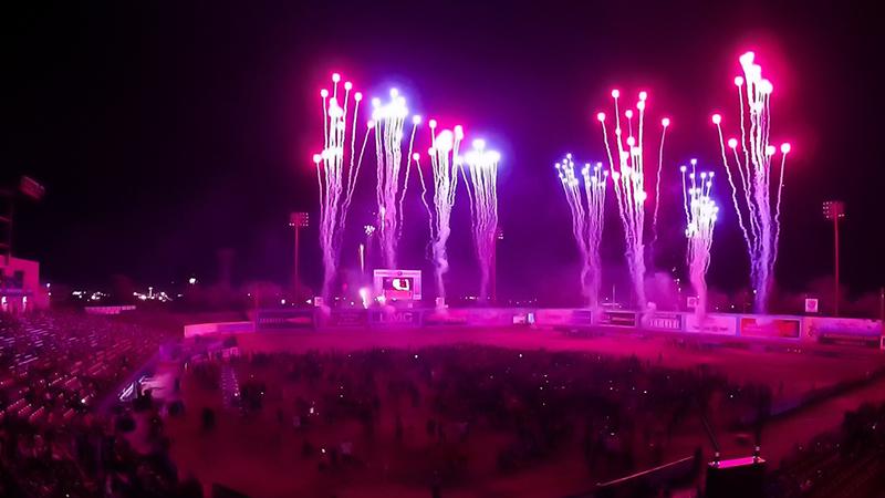 Las Vegas Lights FC Professional Soccer - Fireworks Show