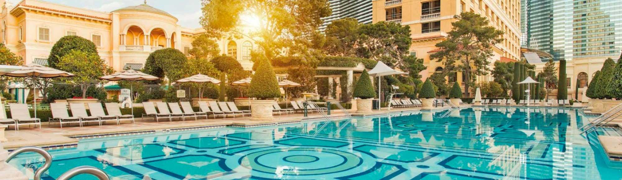 Bellagio Hotel Pool Information Hours Vegas Com