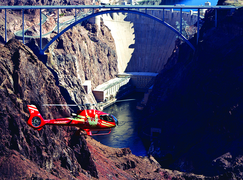 Ace of Adventure Air Tour with Limo - Hoover Dam View Helicopter Flight