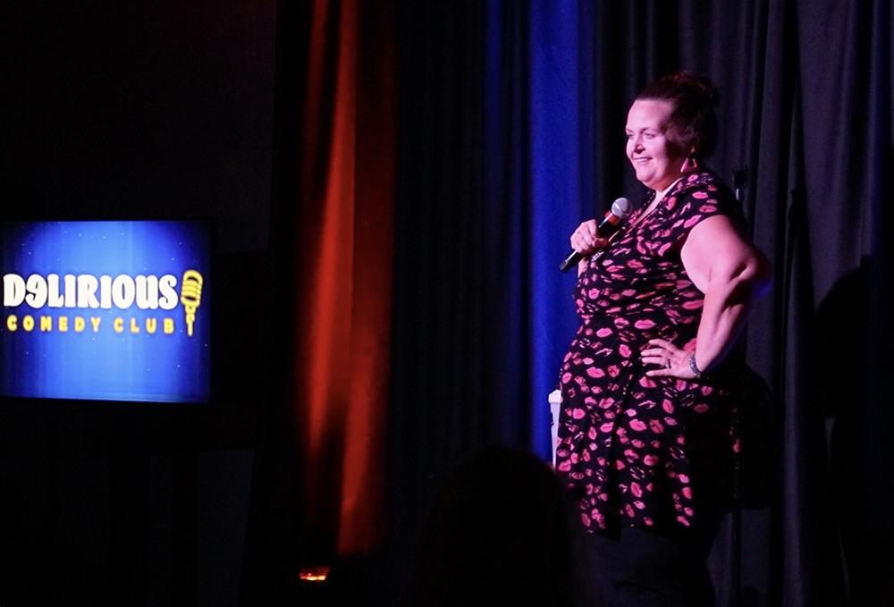 Delirious Comedy Club - Susan Jones
