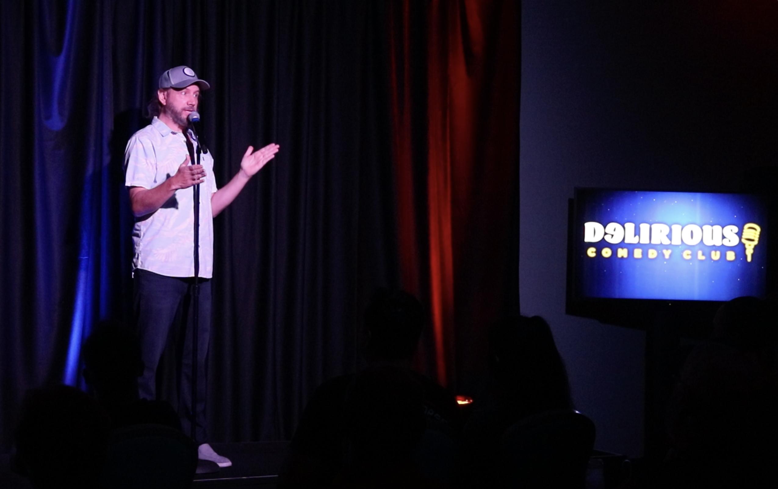 Delirious Comedy Club - Jamie Kennedy