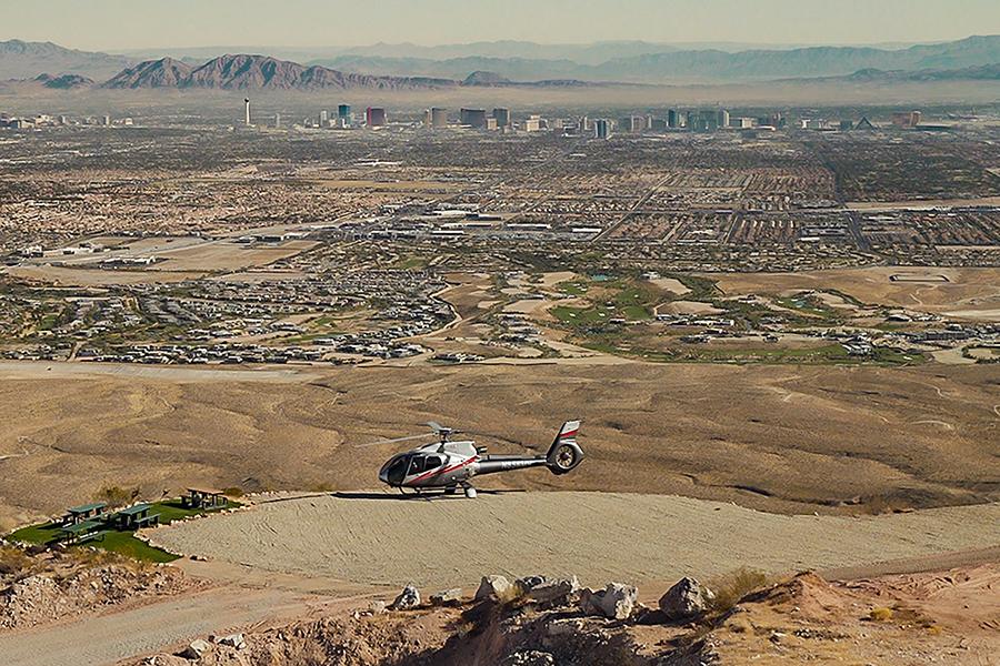 Neon & Nature - Las Vegas Valley Overlook