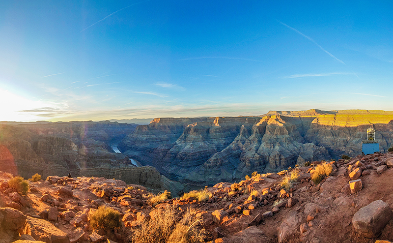 Ace of Adventure Air Tour with Limo - View of the Grand Canyon