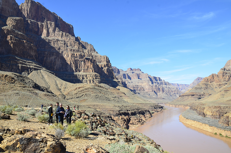 King of Canyons Landing with Limo - Grand Canyon Colorado River Landing