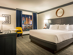 Strip View Room with King Bed