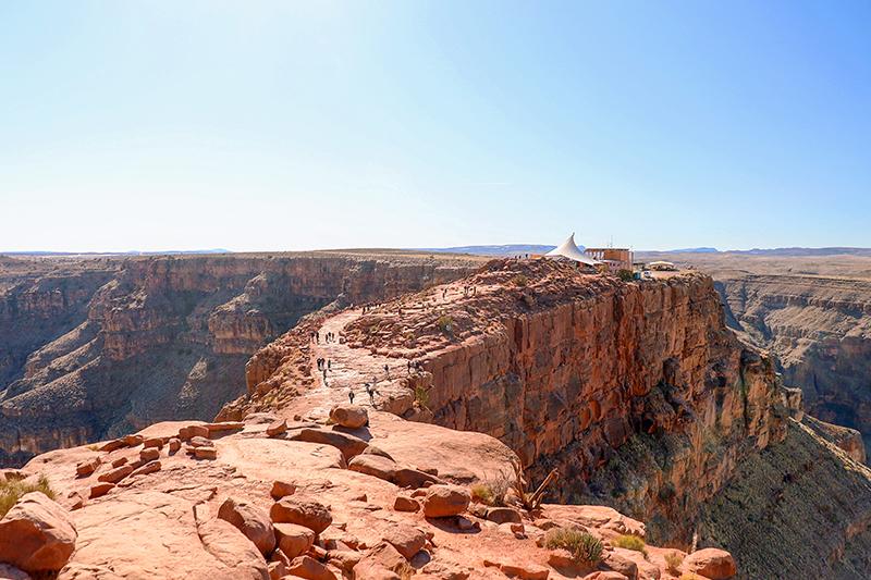 Golden Eagle Air Tour - Grand Canyon West Rim View