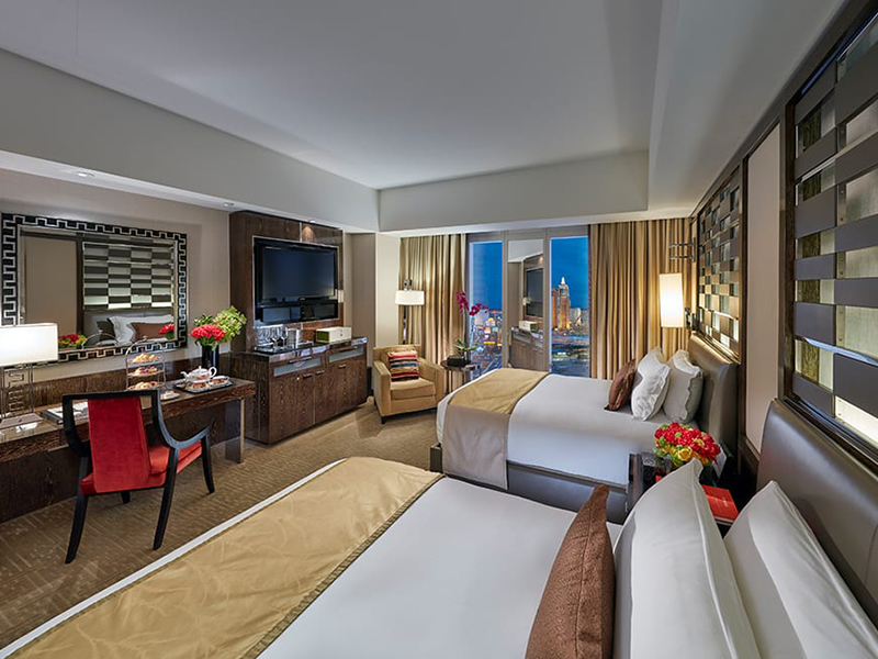 Strip View Room 2 Doubles