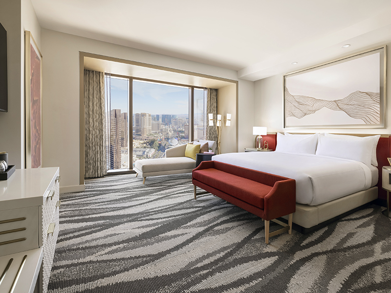 Strip View Premium Room - One King Bed