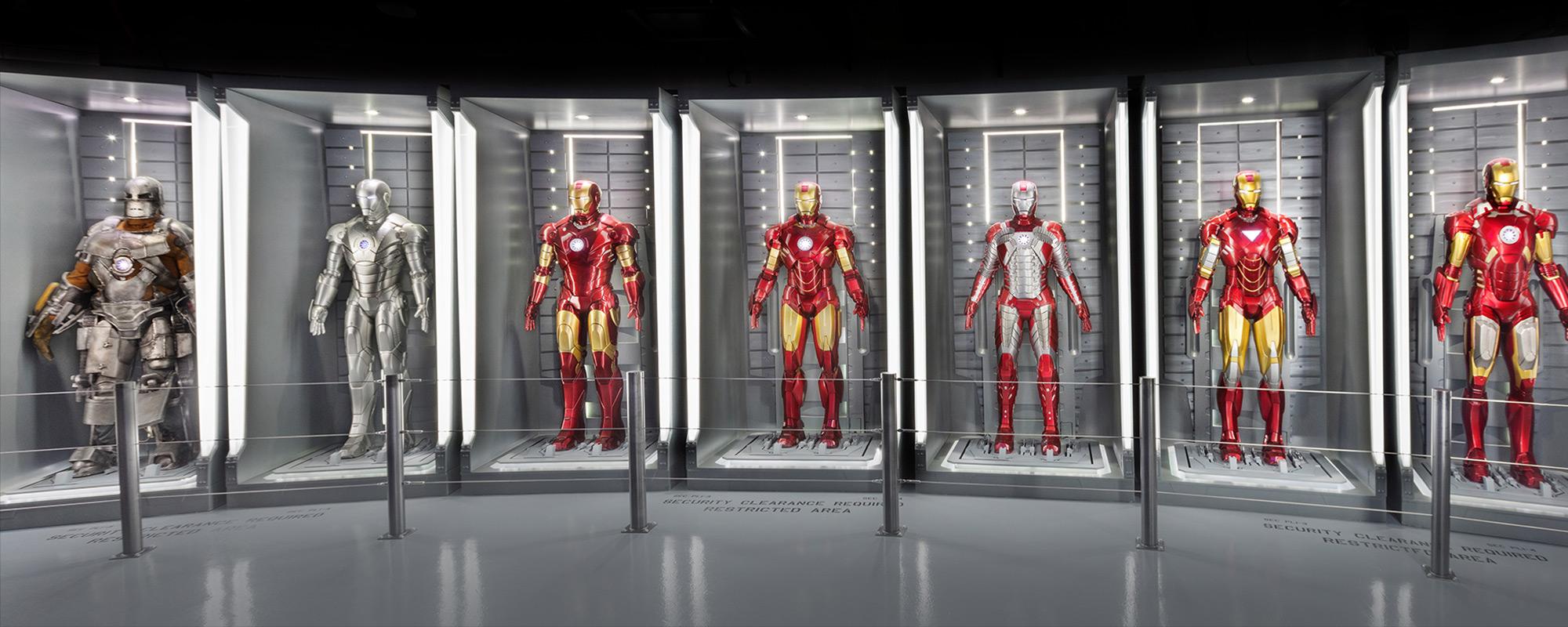 Marvel Avengers STATION Interactive Exhibit attraction
