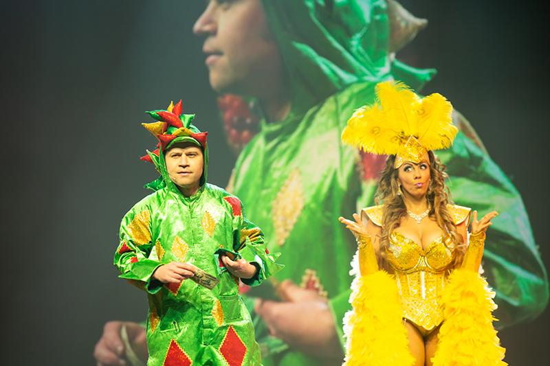 Piff the Magic Dragon show - Piff the Magic Dragon