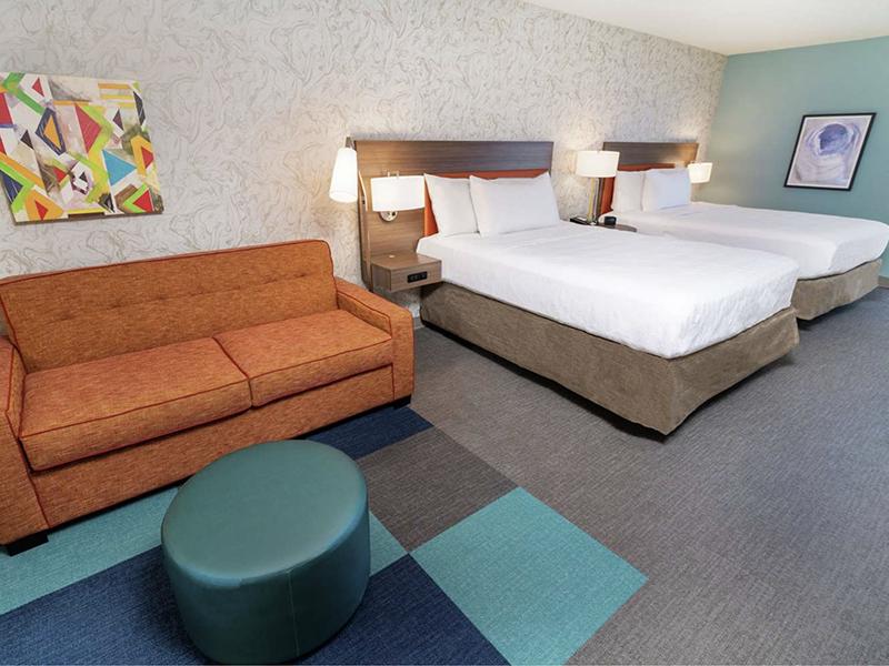 2 Queen Beds, Hearing Accessible Studio Suite - Non-Smoking