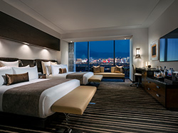 Luxury Room - City View Two Queen