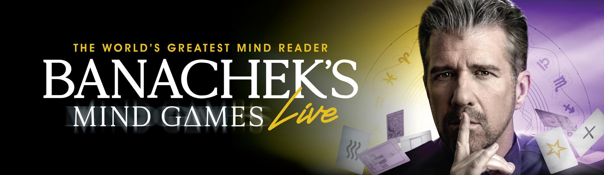 Banachek's Mind Games show