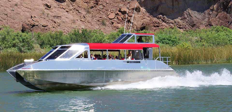 Colorado River Jet Boat to Lake Havasu tour