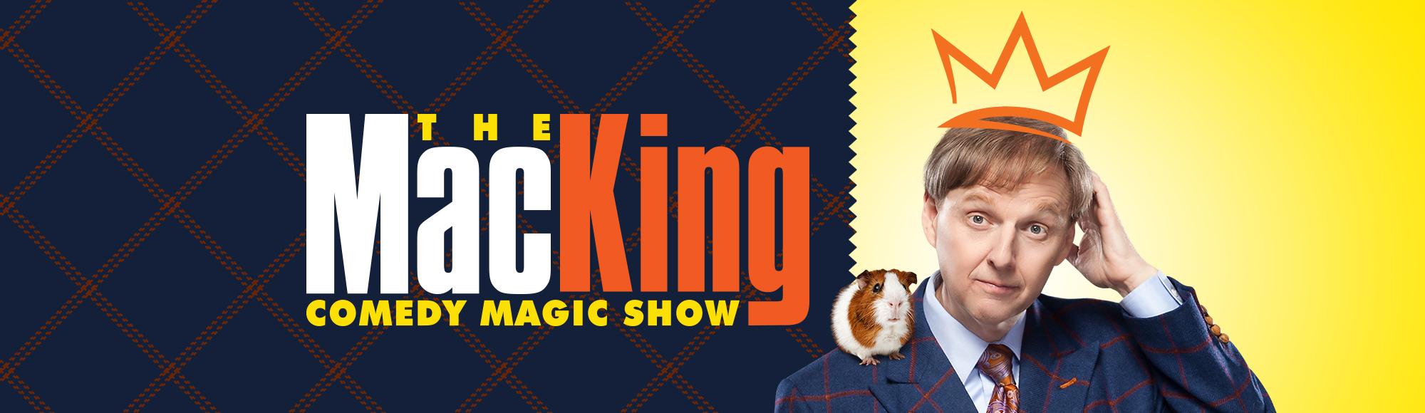 Mac King Comedy Magic Show show