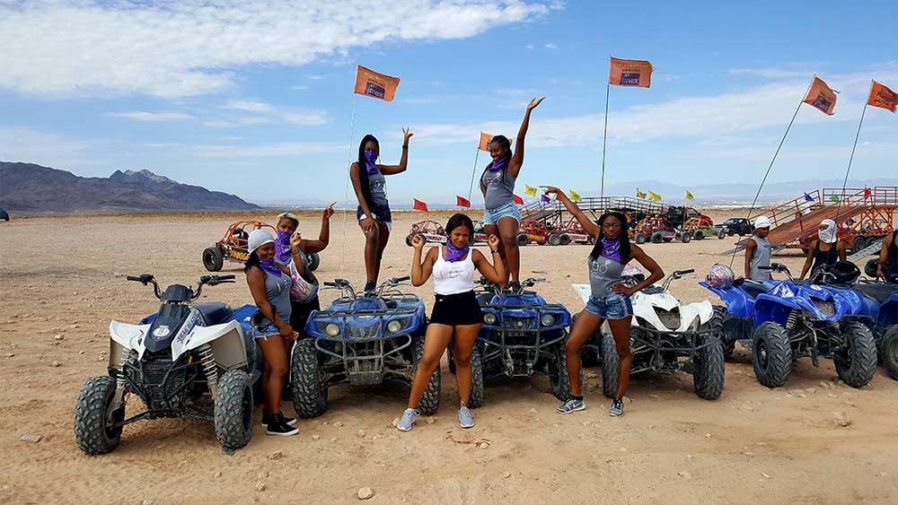 Vegas Mini Baja Chase -