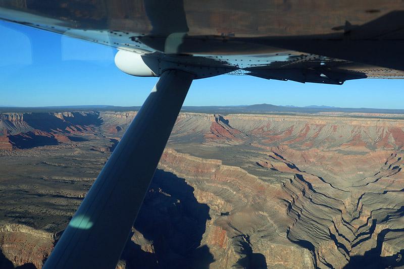 Highlights Over Grand Canyon Tour - Grand Canyon Plane View