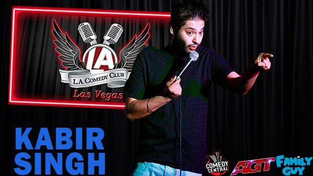 LA Comedy Club - LA Comedy Club Kabir Singh