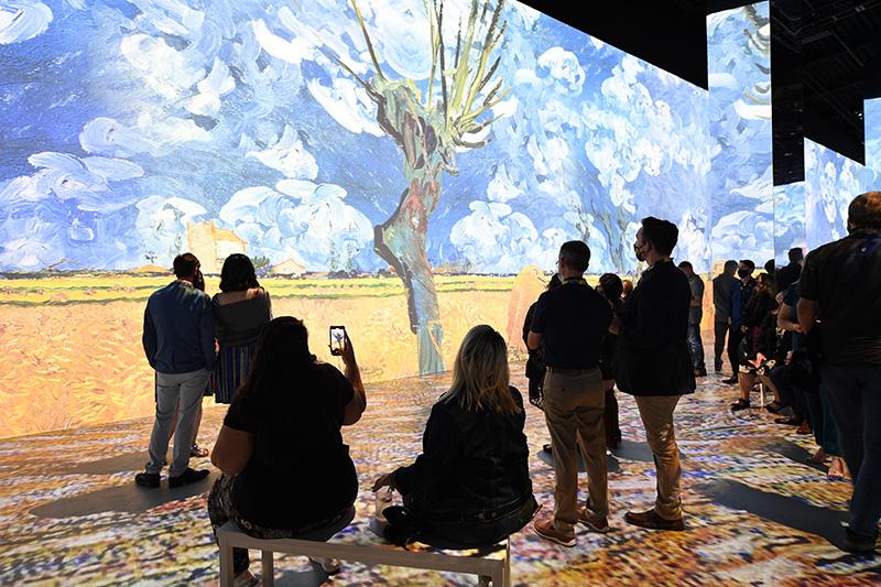 Immersive Van Gogh - Immersive Van Gogh Slideshow 3