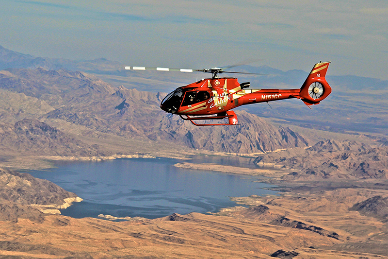 Golden Eagle Air Tour - Helicopter Flight Over Lake Mead