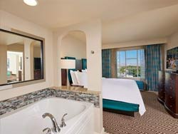 1 King Bed 1 Bedroom Suite - Mobility / Hearing Accessible