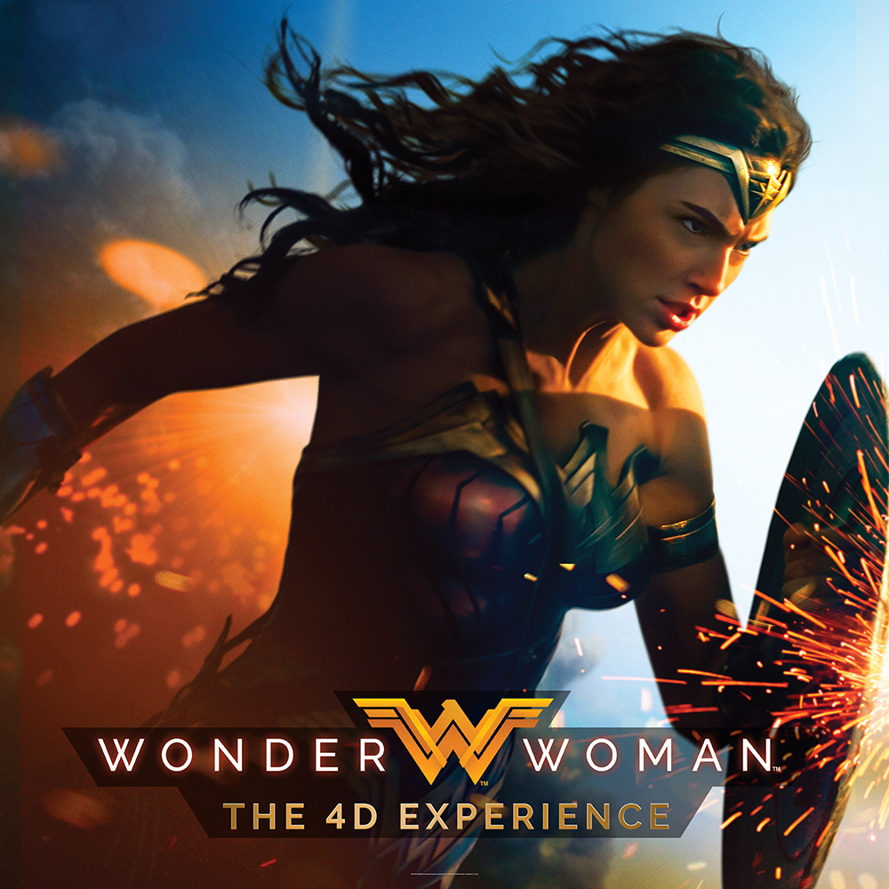4D Ultimate Experience - 4D Experience Wonder Woman
