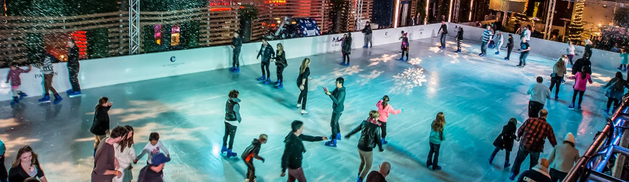 The Ice Rink At Boulevard Pool Vegas Com