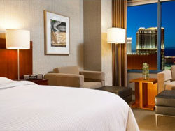 Premium Strip View One King Bed Room