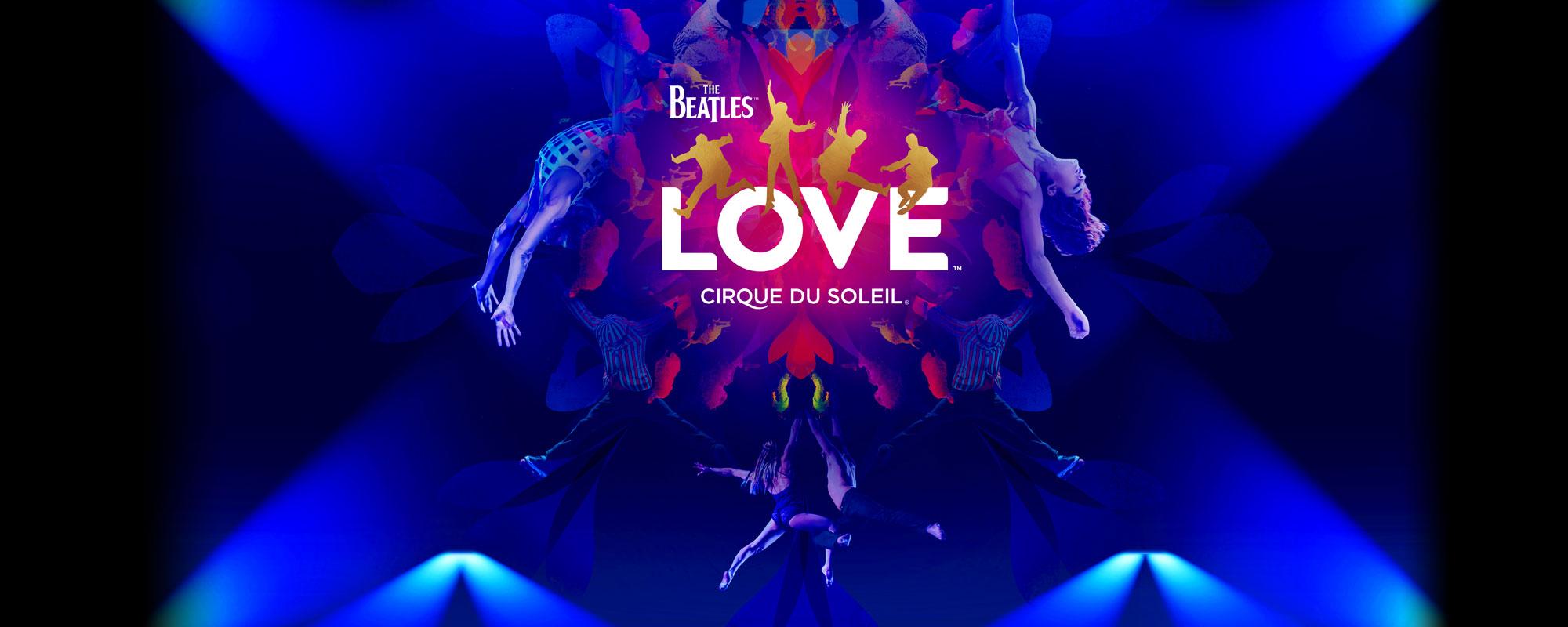 The Beatles LOVE by Cirque du Soleil show
