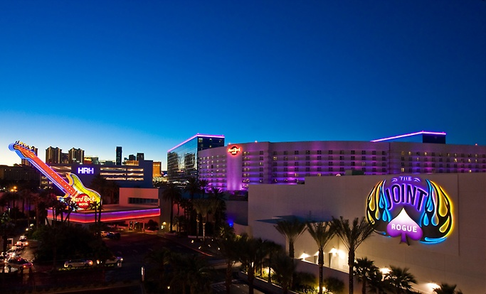How far is the hard rock hotel and casino from the las vegas strip site poker freeroll sans depot