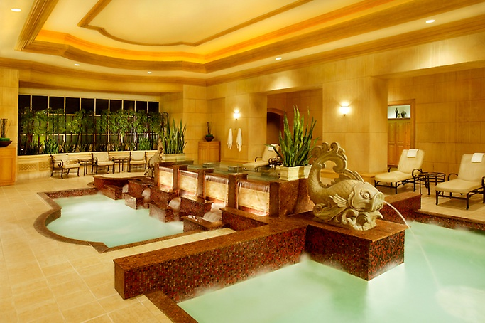 Spa Mandalay pools