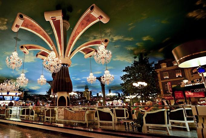 Paris las vegas - Bar le central ...