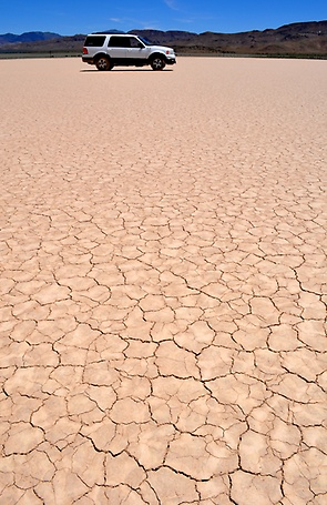 Area 51 Dry Lake Bed
