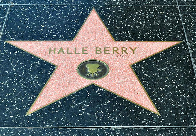 Hollywood Walk of Fame: Halle Berry's star
