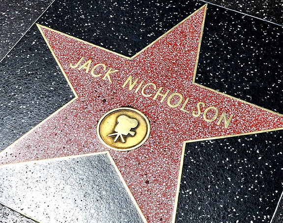 Hollywood Tour - Hollywood Walk of Fame: Jack Nicholson star