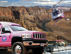 A Grand Canyon Combo Drive, Fly & Float