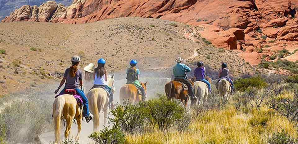Wild West Horseback Adventures tour